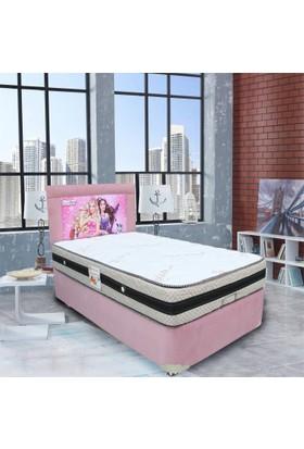 Ellaronia Tek Kişilik Taytüyü Yatak Başlığı Barbie Prenses Ve Popstar