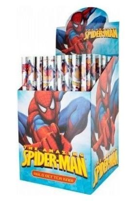 Abka Hazır Defter-Kitap Kabı A-5 Spiderman Simli 25 Li (25 Adet 1 Paket)