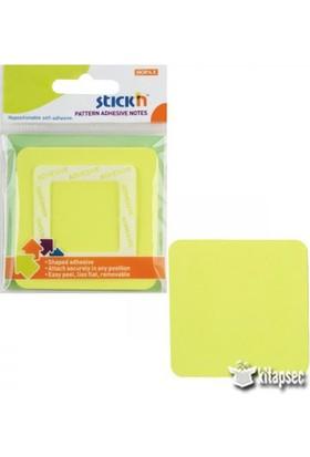 Hopax Stickn Yapışkanlı Not Kağıdı 70X70 Mm Kare Sarı 50 Yaprak 4-2154100-5001