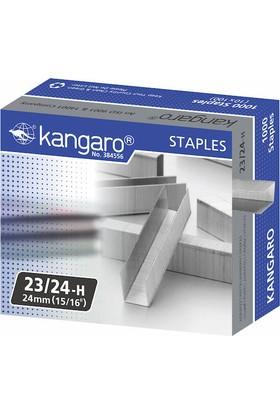 Kangaro No.23-6 - 23-24 Zımba Teli 140 Yaprak Gri Kan-Hd-23L24Flg