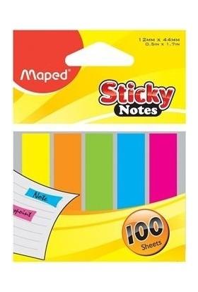 Maped Sticky Notes Yapışkanlı Not Kağıdı 12X48 Mm 771110