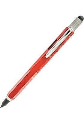 Monteverde Mv-35254 Rb Toolpen Multifunction Tükenmez Kalem Kırmız