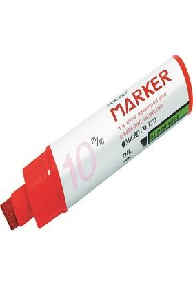 Rubenis Micro Markör Kalem 10 Mm Kırmızı Mmp-1001K