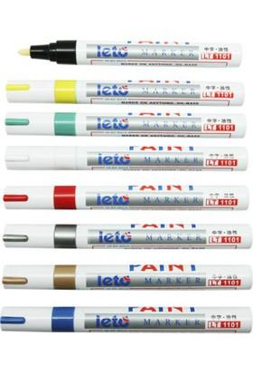Leto Paint Markör Kalemi 144 Lü Karışık