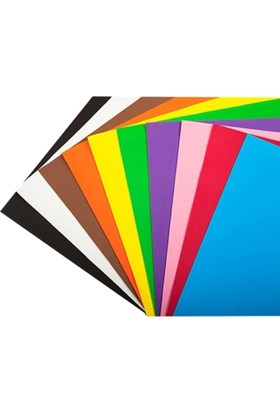 Türkoğlu Renkli Mukavva 50X70 Cm Beyaz 1,0 Mm 18 Li (1 Koli 18 Adet)