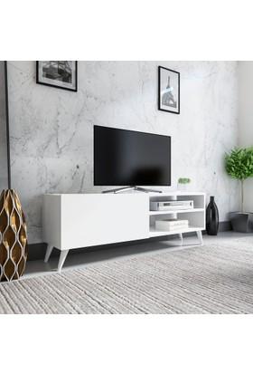 Evmonte Zero Tv Ünitesi Beyaz 1061