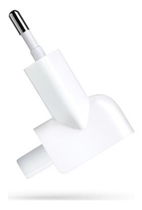 Macstorey Apple Macbook Pro Retina Air Şarj Aleti Türkiye Çevirici Priz EU Plug MD837