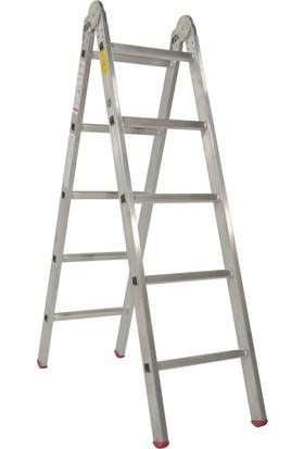 Cömert 1,5 Mt Tek Kırmalı Merdiven