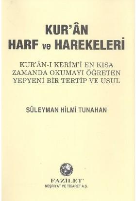 Kuran Harf Ve Harekeleri Elifbası Rahle Boy - Süleyman Hilmi Tunahan