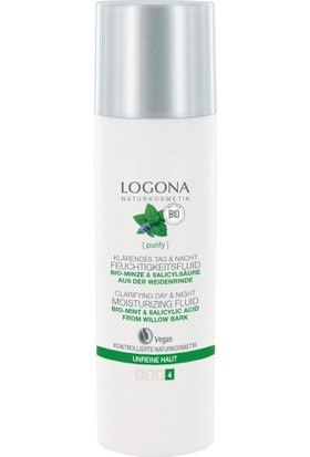 Logona Organik Nane ve Salisilik Asitli Fluid 30 ml