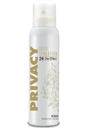 Privacy Gold Kadın Deodorant 150 Ml