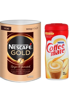 Nescafe Gold Eko Paket 900gr + Coffee Mate 400gr