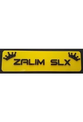 Boostzone Zalım Slx Dekor Sarı Plaka