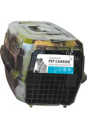 M-Pets Warrıor Taşıma Kabı Yeşil 46*31*23 Cm