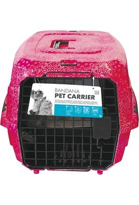M-Pets Bandana Taşıma Kabı Pembe 46*31*23 Cm