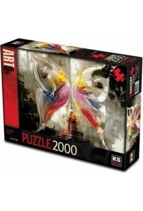 Ks Games 2000 Parça Kelebek Etkisi Puzzle