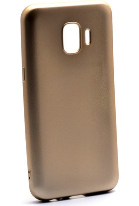 HappyShop Samsung Galaxy J2 Core Kılıf Ultra İnce Mat Silikon + Cam Ekran Koruyucu