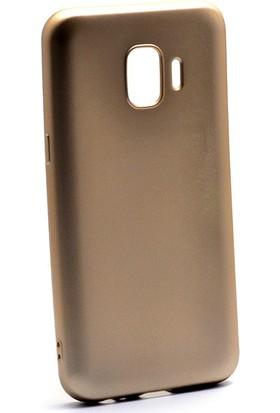 HappyShop Samsung Galaxy J2 Core Kılıf Ultra İnce Mat Silikon + Nano Cam Ekran Koruyucu
