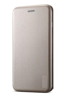 HappyShop Huawei Y6 2018 Kılıf Kartlıklı Standlı Manyetik Kapaklı Kılıf + Cam Ekran Koruyucu