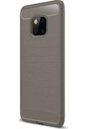 HappyShop Huawei Mate 20 Pro Kılıf Ultra Korumalı Room Silikon + Nano Cam Ekran Koruyucu
