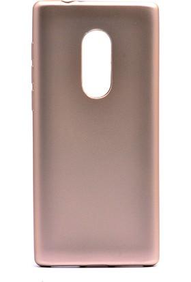 HappyShop Alcatel 3 Kılıf Ultra İnce Mat Silikon + Cam Ekran Koruyucu