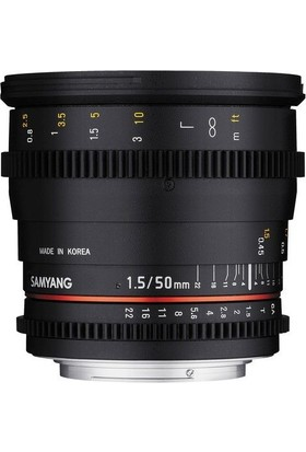 Samyang 50Mm T1.5 As Umc Vdslr Lens Sony Uyumlu