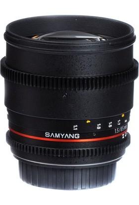 Samyang 85Mm T1.5 Vdslr Sony Uyumlu Lens