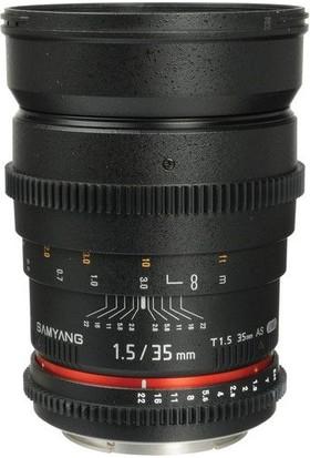 Samyang 35Mm T1.5 Vdslr Sony E Uyumlu Cine Lens