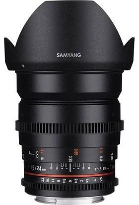 Samyang Vdslr 24Mm T1.5 Ed As If Umc Canon Uyumlu Lens