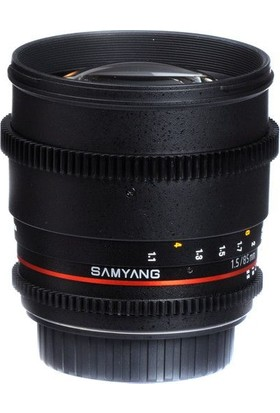 Samyang 85Mm T1.5 Vdslr Canon Uyumlu Lens