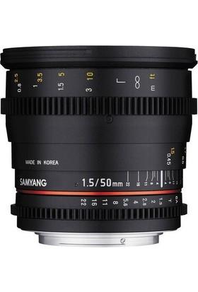 Samyang 50Mm T1.5 As Umc Vdslr Canon Uyumlu Lens