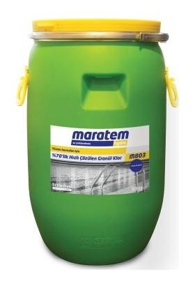 Maratem M803 Stabilizatörsüz %70 lik Hızlı Çözülen Granül Klor 50kg