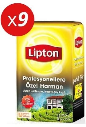 Lipton Özel Harman Dökme Çay 1000grx9 Adet