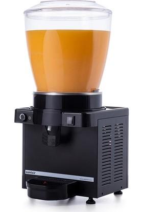 Samixir M22 Soğuk İçecek Dispenseri, 22 L, Analog, Panaromik, Siyah