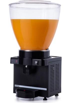 Samixir M40 Soğuk İçecek Dispenseri, 40 L, Dijital, Panaromik, Siyah