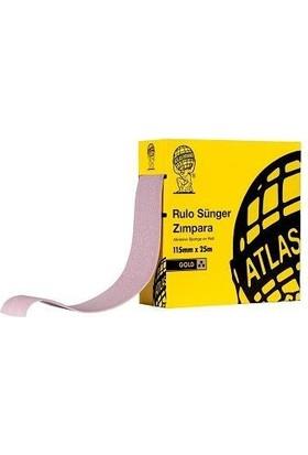 Atlas Gold 220 Kum Sünger Zımpara 115 mm 1 Metre