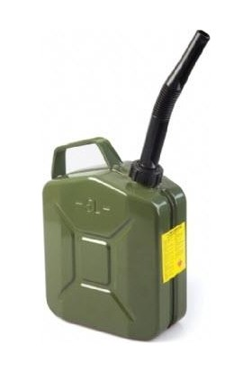 KNC 5 Litre Metal Benzin Bidonu Hortum Dahil