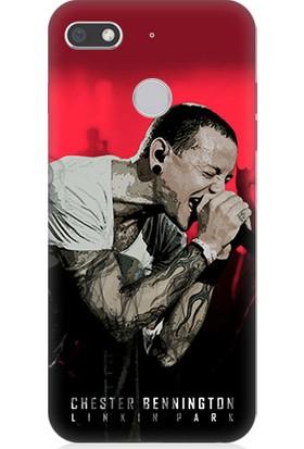 Teknomeg General Mobile Gm8 Go Linkin Park Desenli Tasarım Silikon Kılıf