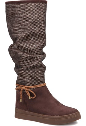 Art Bella Cw17093 Kahverengi Kadın Çizme