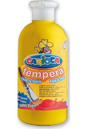 Carioca Tempera Suluboya Süper Yikanabilir Sari 250 Ml.