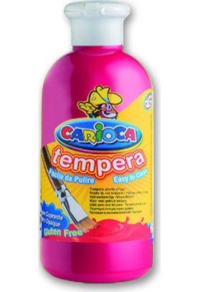 Carioca Tempera Suluboya Süper Yikanabilir Fuşya 250 Ml.