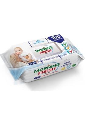 Morning Fresh Islak Havlu 100 Adet Koli İçi 12 Pkt