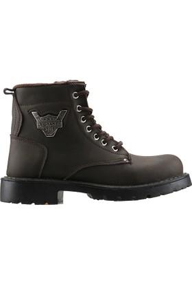 La Grande St948 Kahverengi Termal Astarlı Erkek Çocuk Bot Ayakkabı