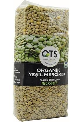 OTS Organik Yeşil Mercimek 750gr