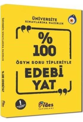 Fides Yayınları Yüzde 100 Ösym Soru Tipleriyle Edebiyat