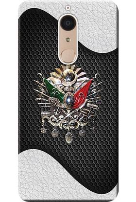 Kılıf Merkezi Casper Via G1 Kılıf Silikon Baskılı Osmanlı Tuğra Tasarım STK:415
