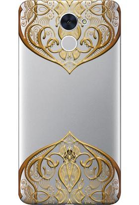Kılıf Merkezi Huawei Y7 / Y7 Prime Kılıf Silikon Baskılı Desen TasarımSTK:341
