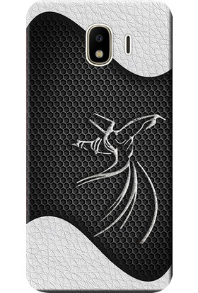 Kılıf Merkezi Samsung Galaxy J4 Kılıf SM-J400F Silikon Baskılı Semazen Tasarım STK:433