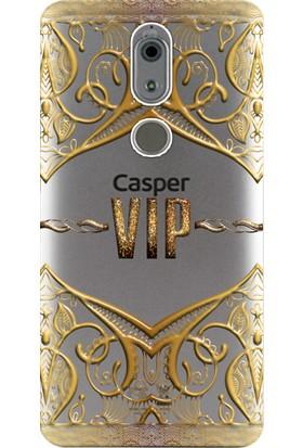 Kılıf Merkezi Casper Via A2 Kılıf Silikon Baskılı Vip Desen STK:342