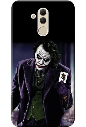 Kılıf Merkezi Huawei Mate 20 Lite Kılıf SNE-LX1 Silikon Baskılı Joker STK:599